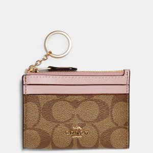 COACH Mini Skinny ID Case (NWT)